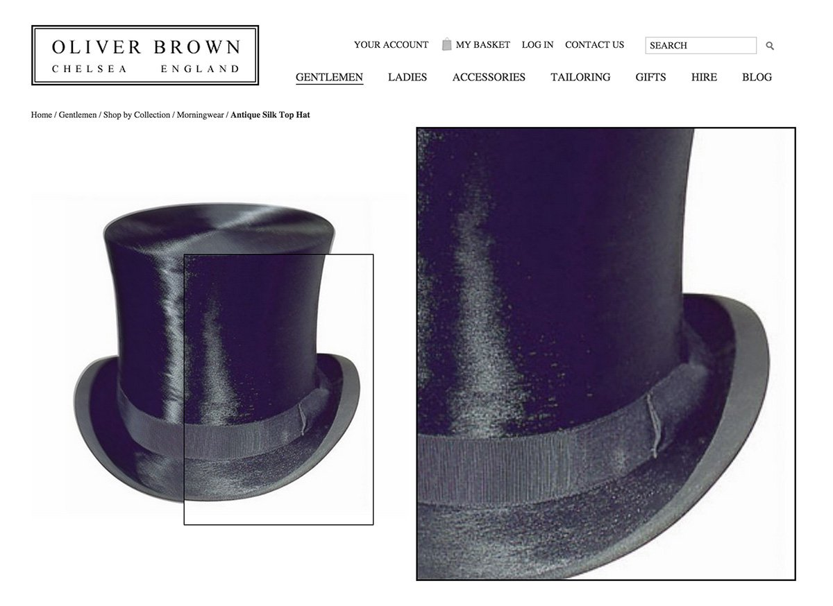 Top hats for Ascot!
