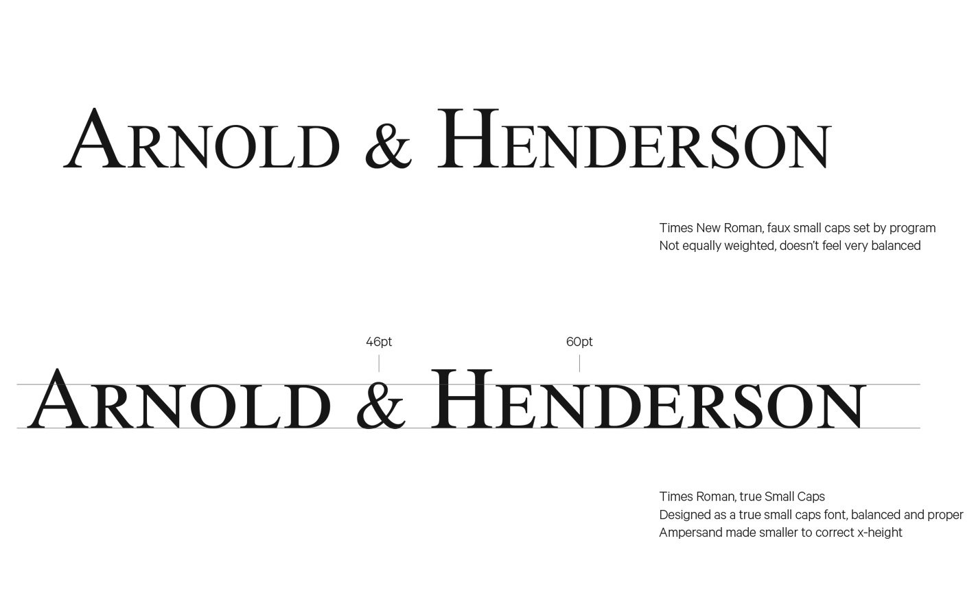 HED for Arnold and Henderson
