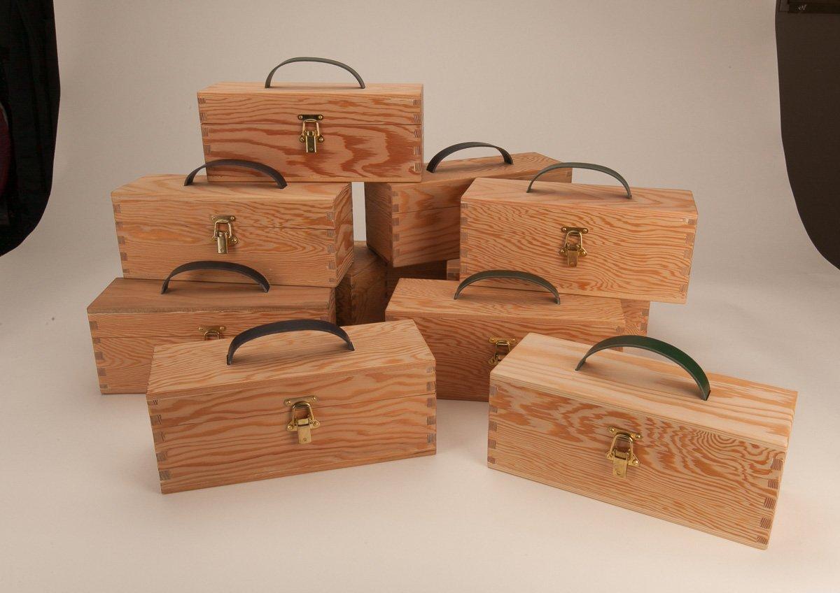 Twelve tasting boxes