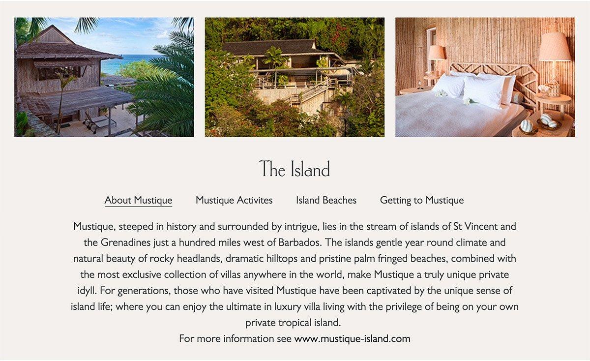 Villa details section